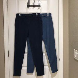 Bundle of leggings/jeggings